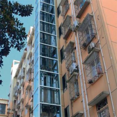 杭州市江干区既有住宅加装电梯金秋花园小区(贯通式)